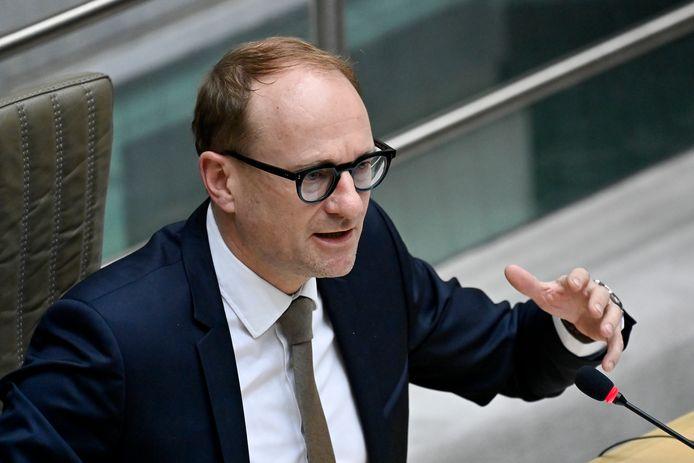"""""""In Vlaanderen moeten we het hebben van goed, veeleisend onderwijs van hoge kwaliteit"""", zegt minister van Onderwijs Ben Weyts."""