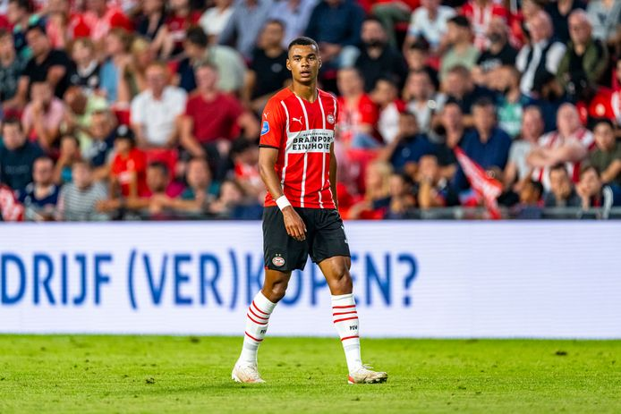 Cody Gakpo staat weer in de basis bij PSV.