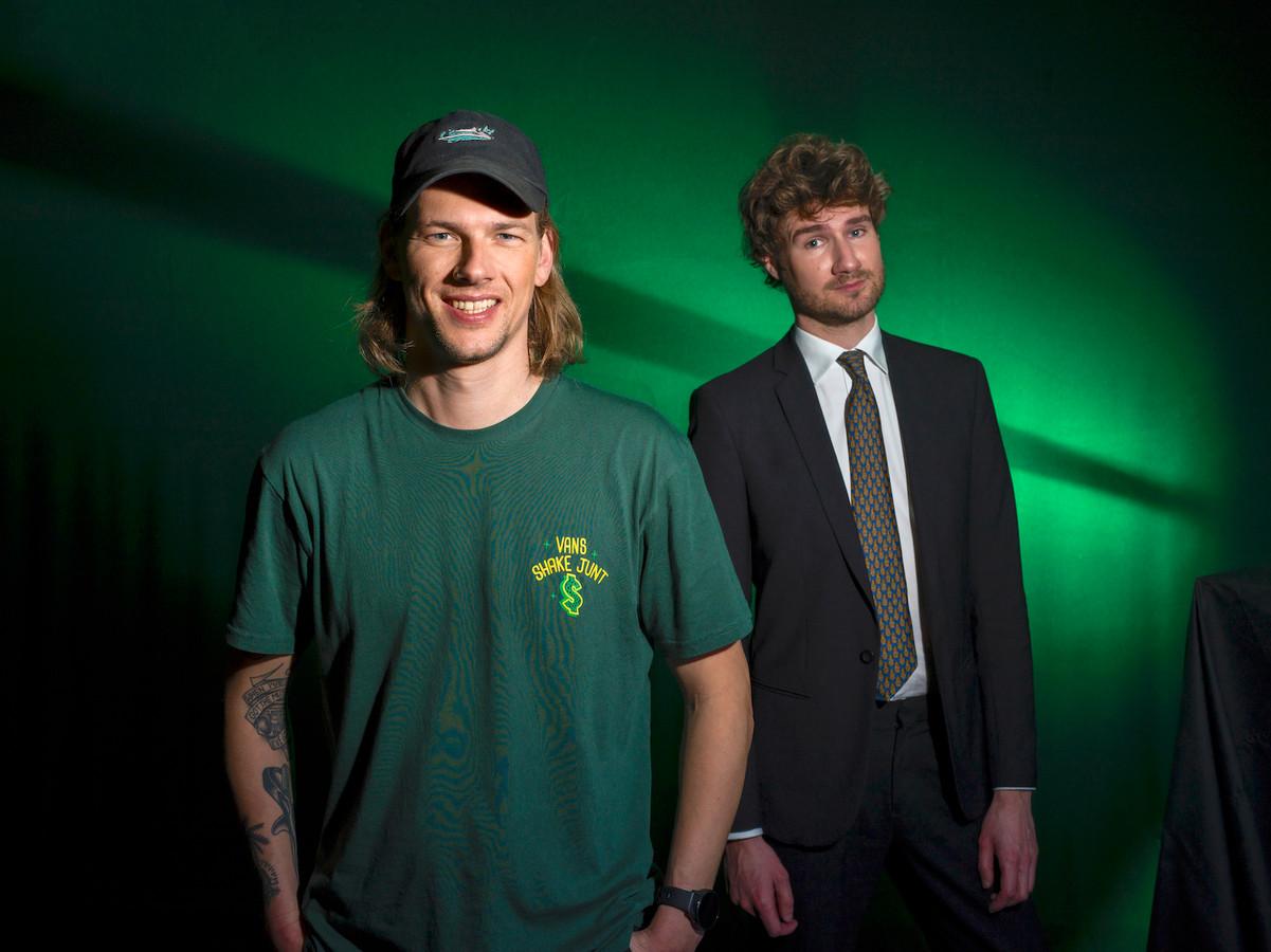 Sander Hoogendoorn (l) en Thijs Boontjes.