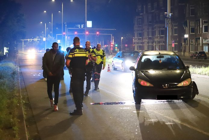Twee aanhoudingen na ongeval Benoordenhoutseweg Den Haag