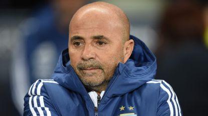 Sampaoli na erbarmelijk WK weg als bondscoach van Argentinië