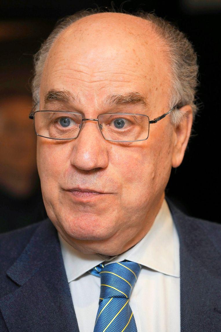 BAM-baas Karel Vinck was ook van de partij. Beeld UNKNOWN