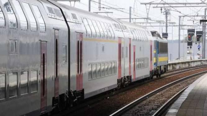 Trein rijdt door rood in station van Vilvoorde