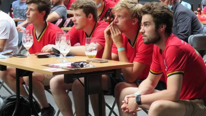 75-tal supporters zien Rode Duivels winnen in eventhall Industria