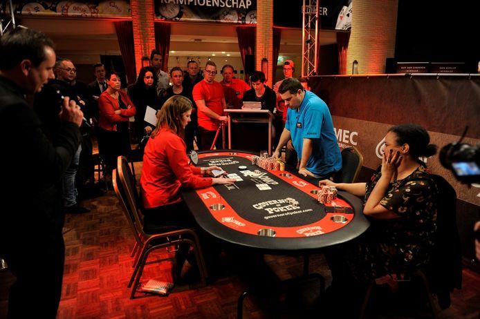 Een eerdere voorronde van het Open Nederlands Kampioenschap Poker.