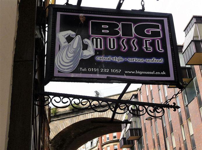 Mosselrestaurant in Newcastle.