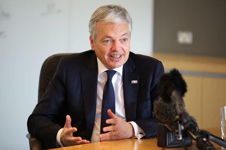 Minister van Buitenlandse Zaken Didier Reynders (MR). Beeld BELGA