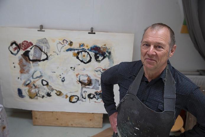 De Vordense kunstenaar Tim Hinterding.