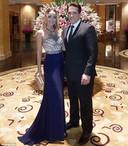 Alexander Johnson en zijn vrouw Luna.