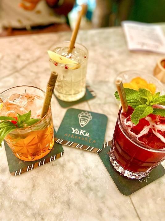 Des cocktails aux notes africaines qui n'ont rien à envier à leurs grands frères traditionnels.