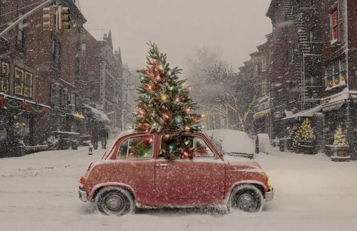 De boetes voor het verkeerd vervoeren van een kerstboom zijn hoog