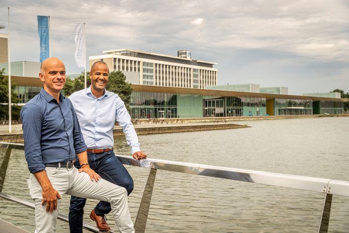 Robert Bouwman (links) en Randy Appiah van EZ Factory.
