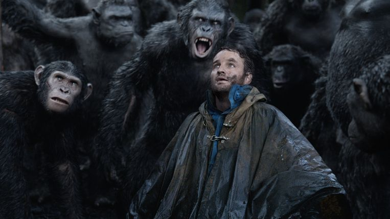 Jason Clarke in Dawn of the Planet of the Apes van Matt Reeves. Beeld