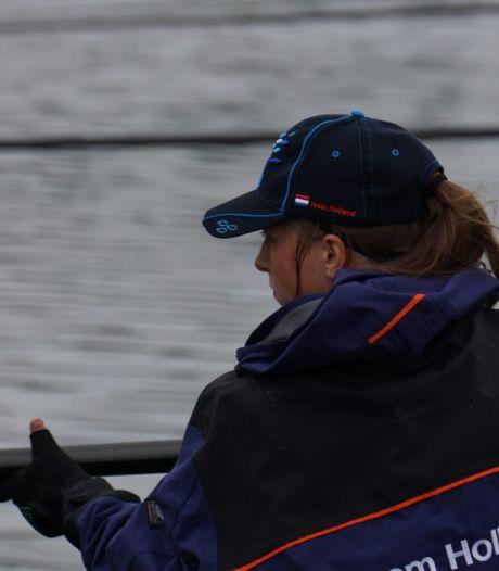 Fabiënne (22) aast op de wereldtitel bij Lelystad: 'Onze hengel is stuk korter dan bij de mannen'
