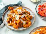 Recept van de Dag: Gnocchi in gepofte paprika-wortelsaus