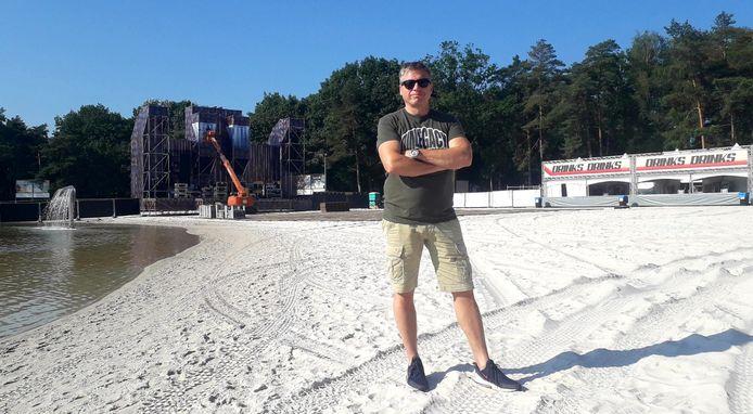 Organisator Nic Keirsmaekers kijkt het festival vol goede moed tegemoet.