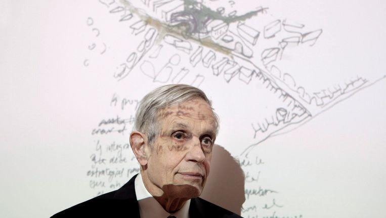 Wiskundige John Nash werd 86 jaar. Beeld EPA