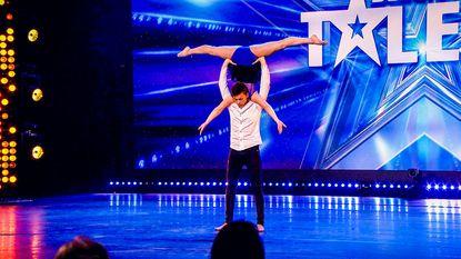 Natascha (19) en haar vriend stelen show in Belgium's Got Talent