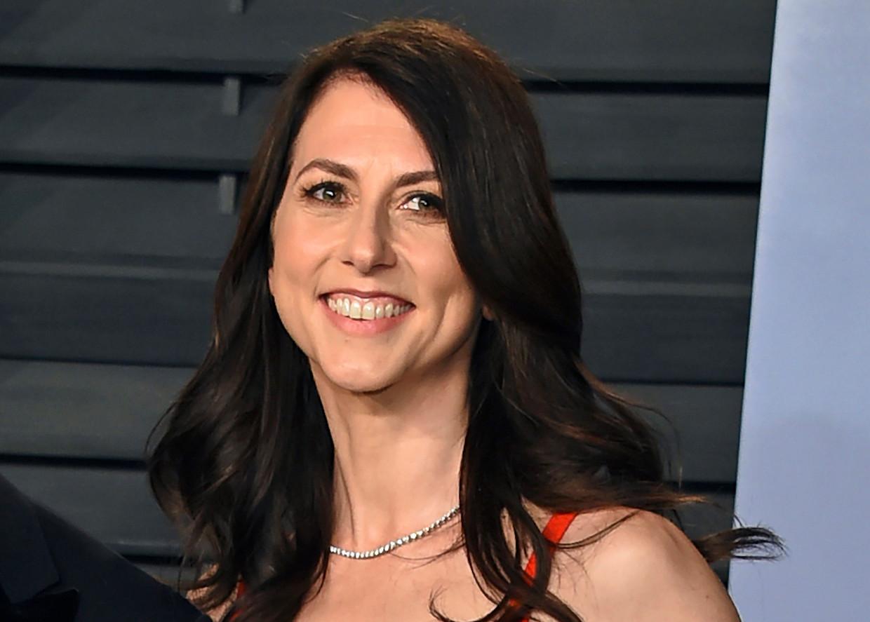 MacKenzie Scott, de ex-vrouw van Amazon-baas Jeff Bezos.  Beeld AP