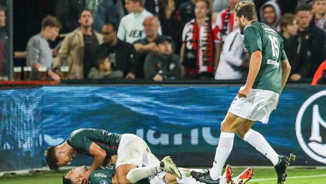 NEC-invaller Verdonk ziet sprookje uiteenspatten tegen Feyenoord: 'Ik dacht de winnende te hebben gemaakt'