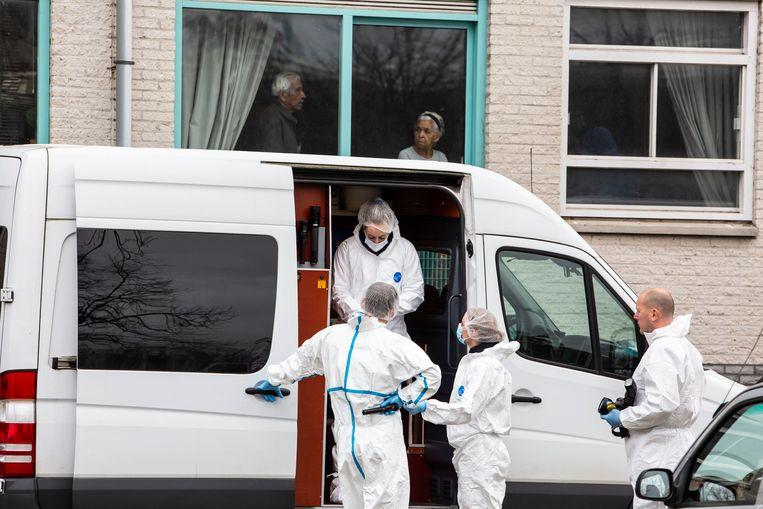 In Amsterdam-Zuidoost is Martin van de Pol, 'Polletje', neergeschoten op de Alexander Dumaslaan. Beeld Amaury Miller