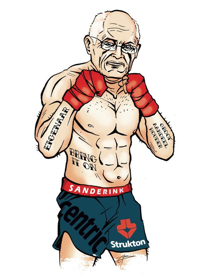Gerard Sanderink geeft zich niet zo snel gewonnen.