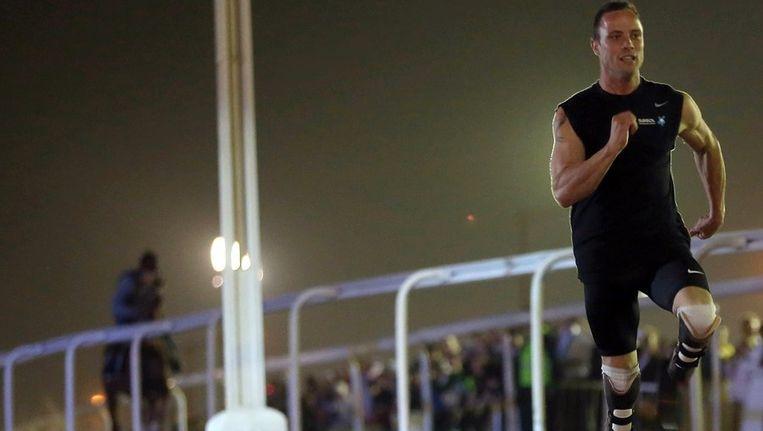De Zuid-Afrikaanse atleet Oscar Pistorius Beeld ANP