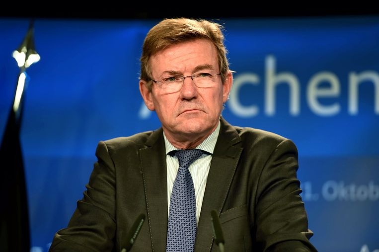 Minister Johan van Overtveldt. Beeld AFP