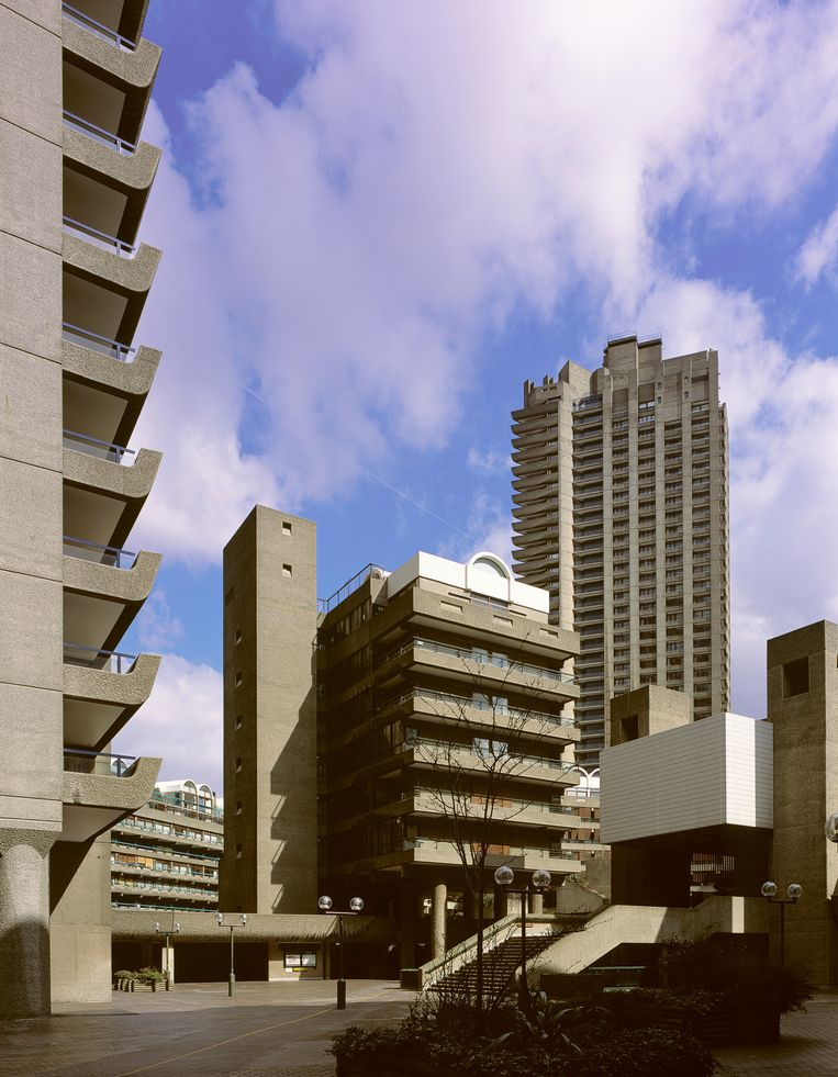 Barbican Estate in Londen. Beeld Getty