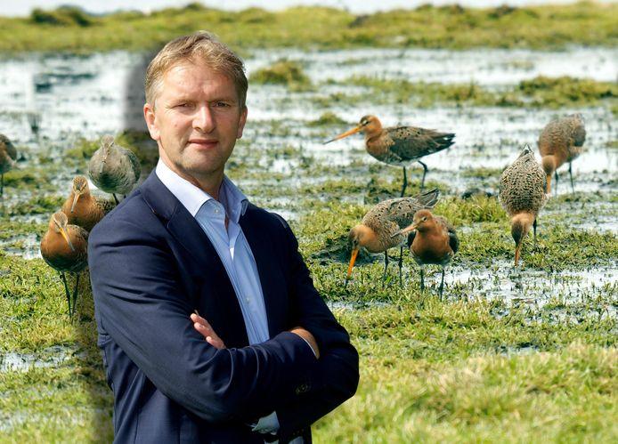 Maurits von Martels heeft een reddingsplan bedacht voor de weidevogels.