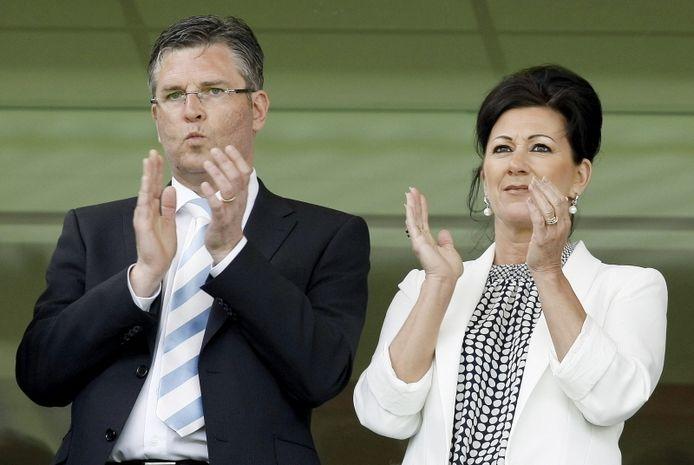 Martin van Geel en zijn vrouw Annet. FOTO PRO SHOTS