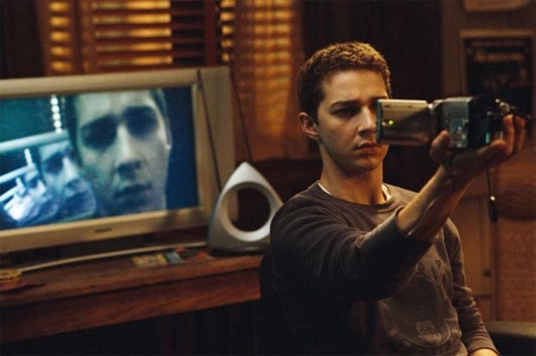 Shia Lebeouf in 'Disturbia'. Beeld
