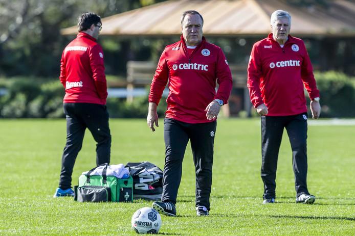 Sparta-trainer Dick Advocaat.