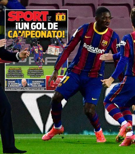 Spaanse media: 'Na 63 minuten was het geduld van Ronald Koeman op'