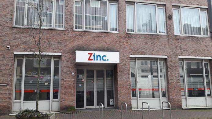 Kantoorpand Zinc in de Molenstraat in Roosendaal.