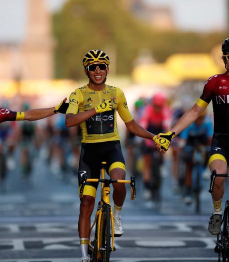 Bernal pakt in tweede Tour de France meteen hoofdprijs