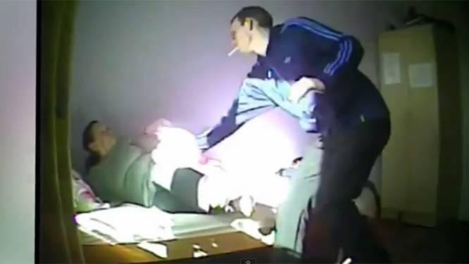 Verborgen camera filmt verplegers die demente vrouw pesten
