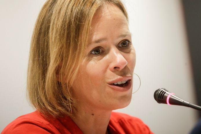 Caroline Désir, ministre de l'Éducation.