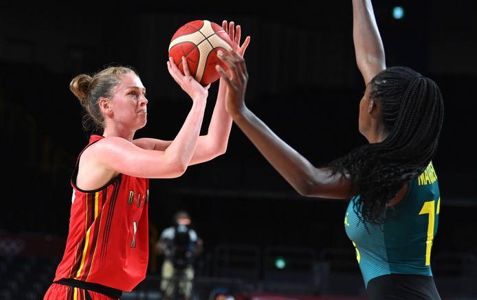 Emma Meesseman et les Belgian Cats ont livré un grand match pour venir à bout de l'Australie.