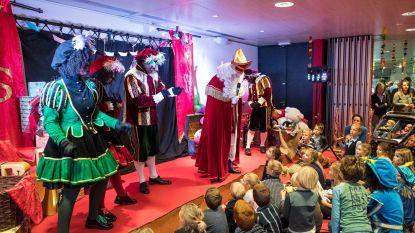 Sinterklaasshow in de Zwalmparel