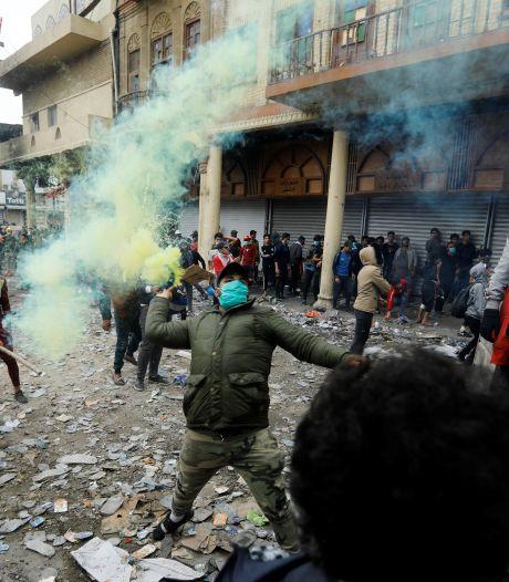 Betogers Irak beschoten: tientallen doden