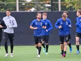 Landskampioen Club Brugge hervat training met pak jonkies