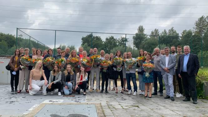 ELZ Grimbergen, BraViO en lokale handelaars zetten 2.200 vrijwilligers in de bloemetjes met goodieboxen