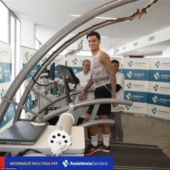 Coutinho onderging vanmorgen nog medische tests.