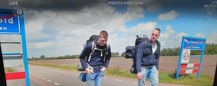 Lars en Geertjan