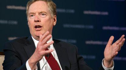 Handelsgezant VS leidt onderhandelingen met China over aanslepend handelsconflict