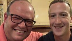 Zuckerberg opnieuw gespot in Brussel in À La Mort Subite