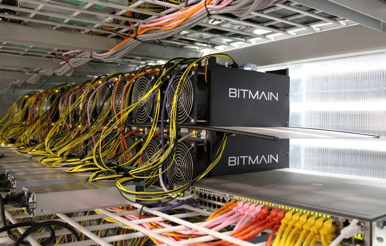 Een voorbeeld van 'delfcomputers' om bitcoin uit te geven. Beeld REUTERS