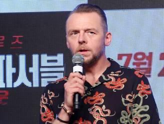 """Simon Pegg over zijn drankprobleem op de set van 'Mission Impossible': """"Wanneer ik eenzaam was, dronk ik mijn hele minibar leeg"""""""