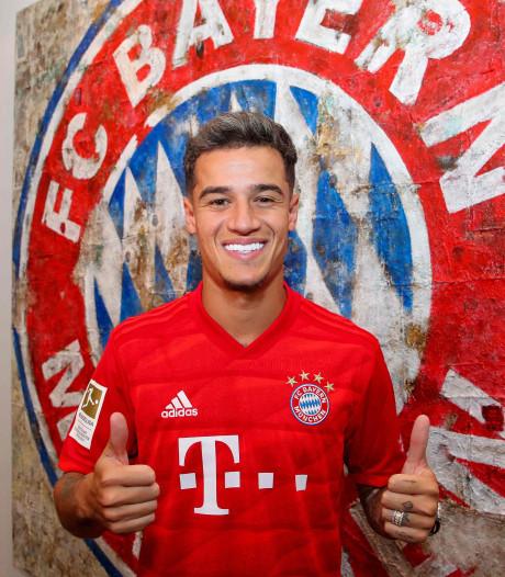 Coutinho officiellement prêté au Bayern Munich